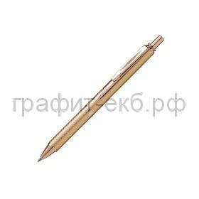 Ручка гелевая Pentel BL407MBOX ENERGEL золотистая