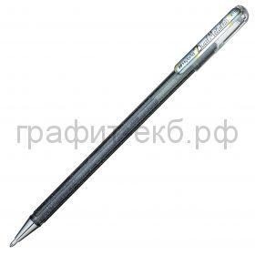 Ручка гелевая Pentel Hybrid Dual Metallic серебро К110-DZX