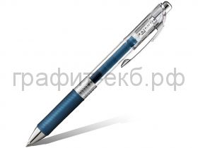 Ручка гелевая Pentel ENERGEL Infree BL77TLE темно-синий 0,7мм
