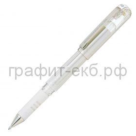 Ручка гелевая Pentel K230-A HYBRID GEL GRIP DX 1.0 белая