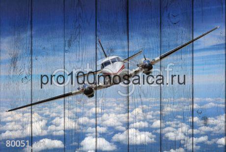 80051 Картина на досках серия АВИАЦИЯ