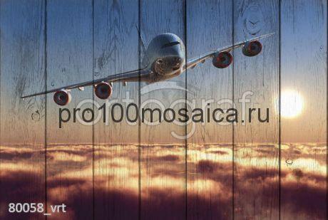 80058 Картина на досках серия АВИАЦИЯ