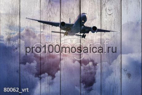80062 Картина на досках серия АВИАЦИЯ
