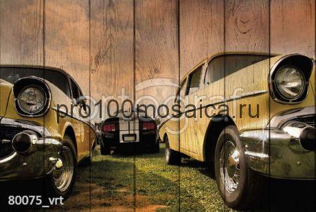 80075 Картина на досках серия АВТО