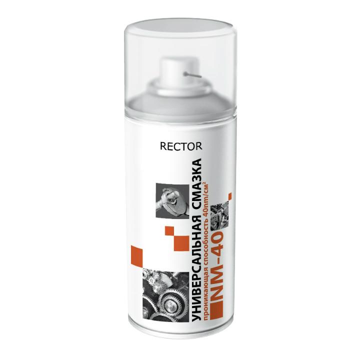 ЭТЮД Аэрозольная универсальная смазка NM40 Rector, объем 150 мл.