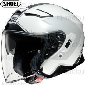 Шлем Shoei J-Cruise 2 Adagio, Бело-серо-черный