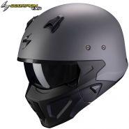 Шлем Scorpion Covert-X Solid, Серый матовый