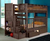 Кровать двухъярусная Малинка Артек №5 (с высокими верхними бортиками)