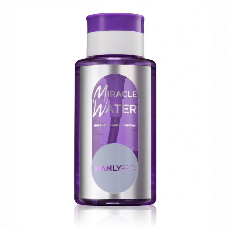 Мицеллярная вода для снятия стойкого макияжа Miracle Water  MANLY PRO