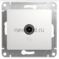 GLOSSA TV АНТЕННА коннектор, механизм, БЕЛЫЙ