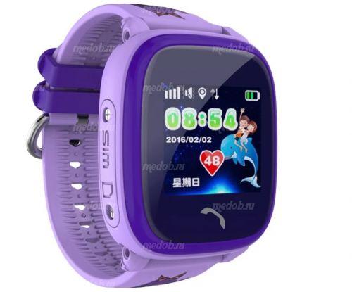 Часы Smart Baby Watch DF25 / GW400S Purple