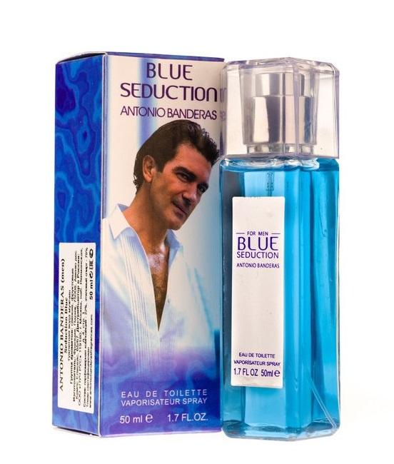 Парфюмированная вода Antonio Banderas Blue Seduction 50ML (СУПЕРСТОЙКИЙ)