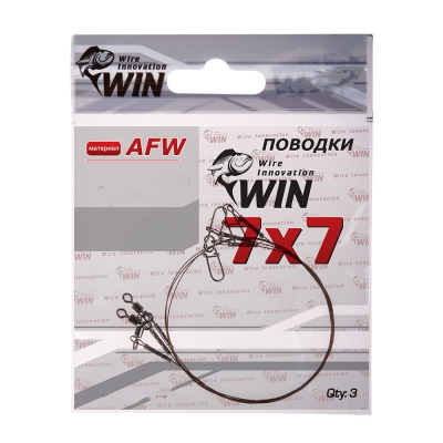 Стальной поводок Win 7х7 (AFW) 18 кг 20 см