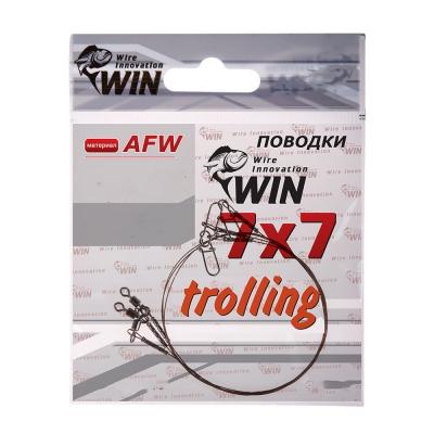 Поводок Win 7х7 (AFW) Trolling 28 кг 80 см