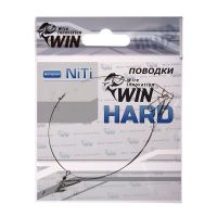 Поводок для спиннинга Win Hard NiTi никель-титан, жесткий 4 кг 15 см