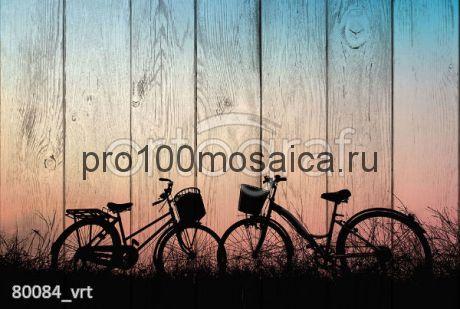 80084 Картина на досках серия ВЕЛОСИПЕДЫ