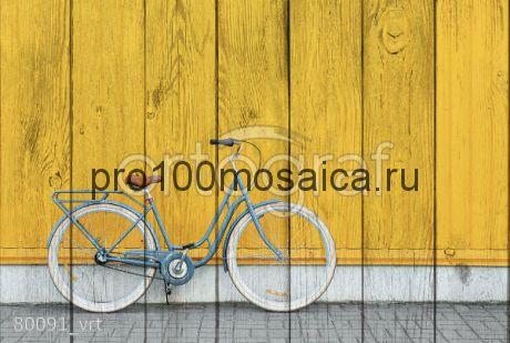 80091 Картина на досках серия ВЕЛОСИПЕДЫ