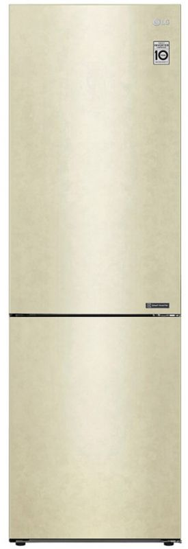 Холодильник LG GA-B509CECL бежевый