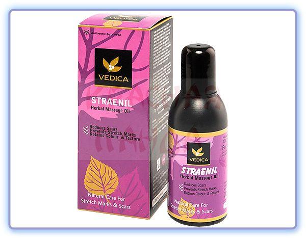 Травяное массажное масло от растяжек и рубцов Veda Vedica