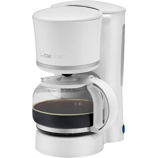 Кофеварка Clatronic KA 3555 weiss-silber