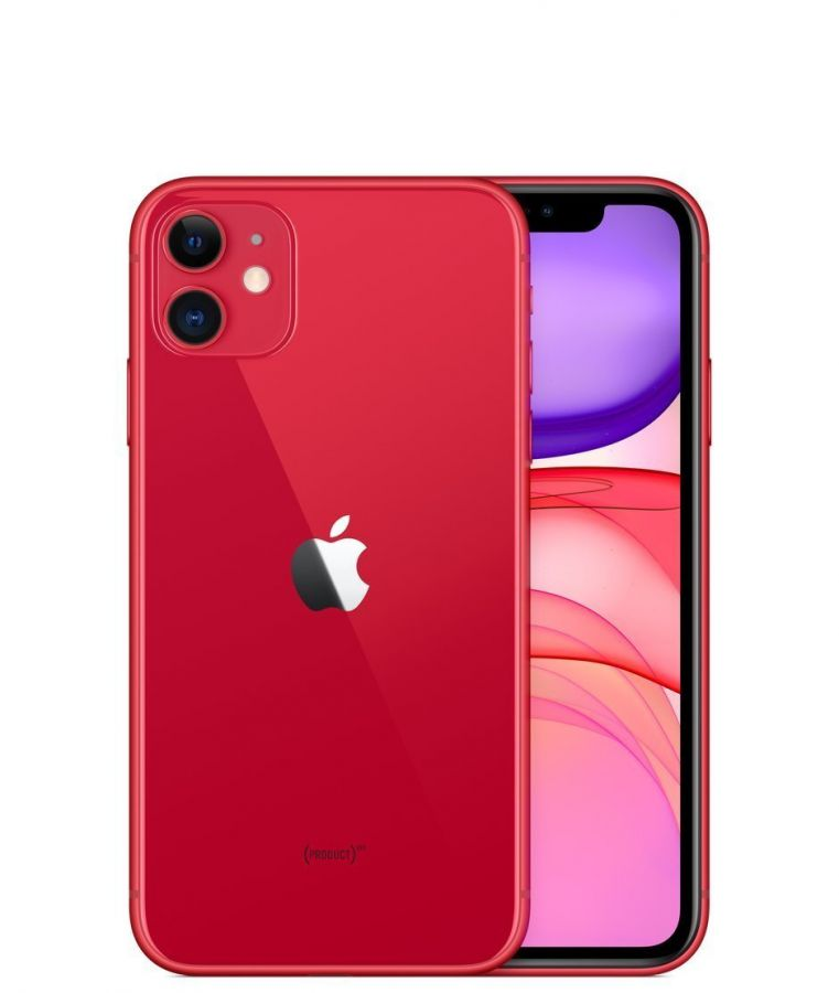 Смартфон Apple iPhone 11 64Gb (Red)