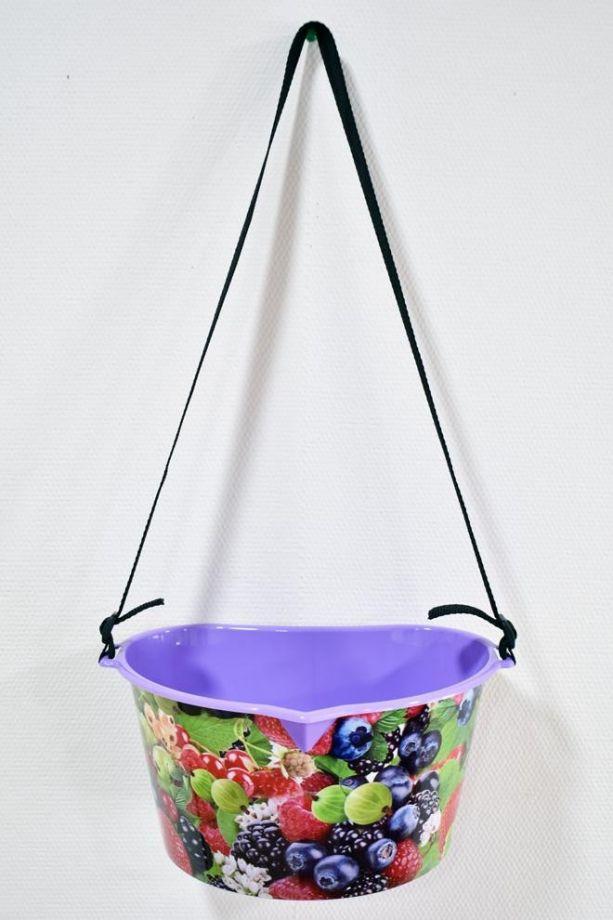 Лукошко для сбора ягод, 3 л, цвет Фиолетовый