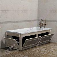 """Экран в ванную комнату с откидными дверцами """"Челси-2, береза"""""""