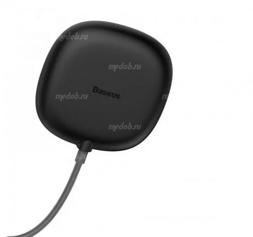 Беспроводное зарядное устройство Baseus Suction Cup Wireless Charger (Black) WXXP-01