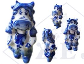 Корова Гжель Символ 2021 года