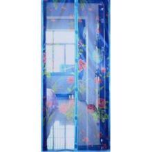 Дверная антимоскитная сетка с рисунком, 100х210 см
