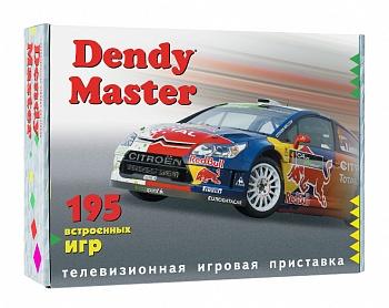Игровая приставка Dendy Master (195 Встроенных Игр)