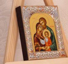 Икона Святое Семейство (9х10,5см)