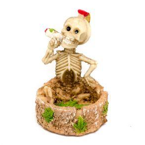 Сигаретная Пепельница Скелет