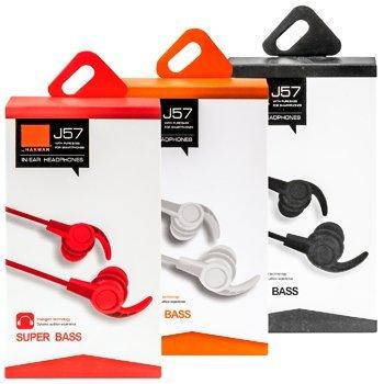 Вакуумные наушники Super Bass J57