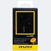 Вакуумные наушники Awei ES-Q6