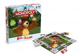 Настольная игра Монополия Джуниор: Маша и Медведь