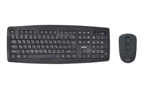 Набор беспроводной (клавиатура+мышь) SmartBuy ONE 212332AG (black)