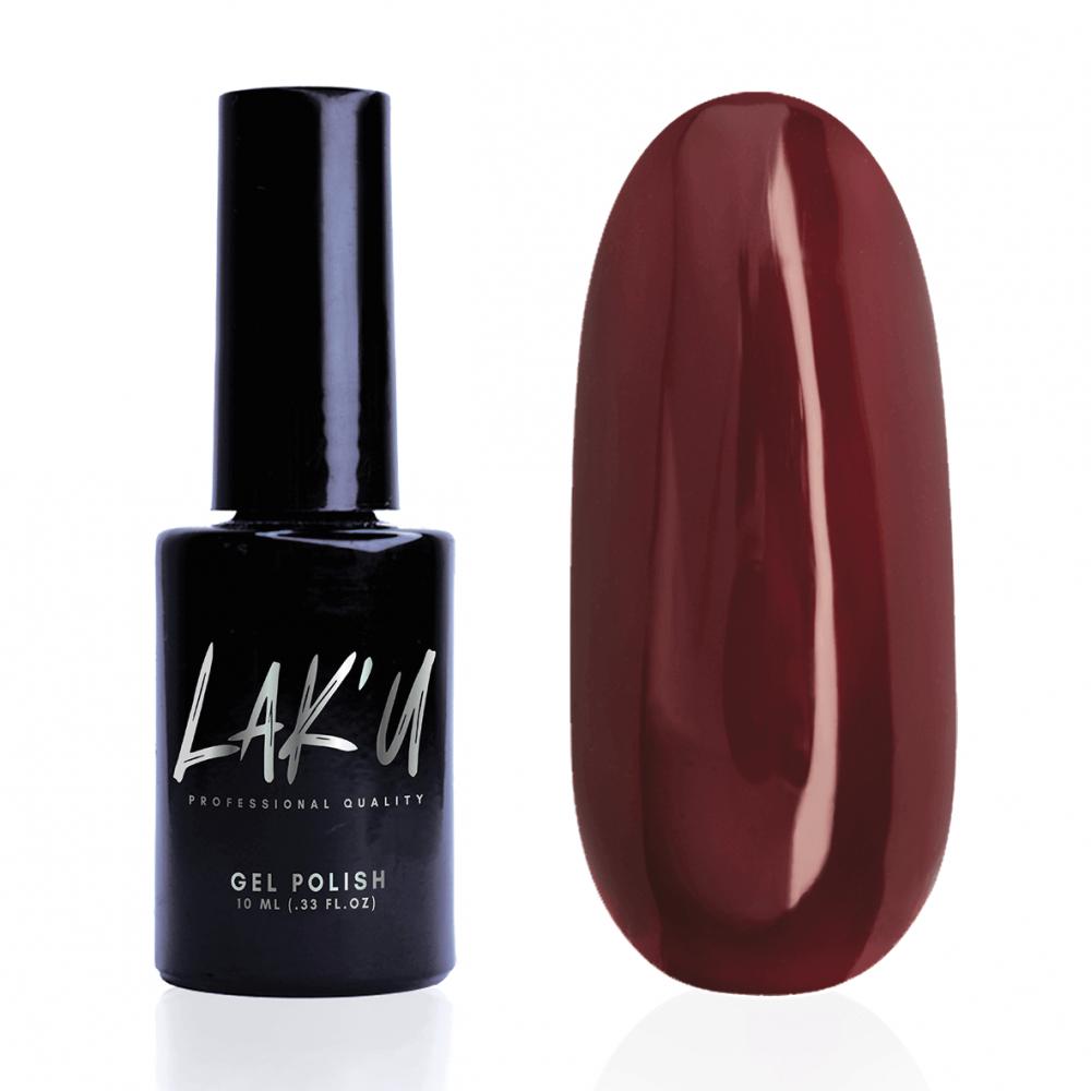 LAK'U гель-лак Ruby Red R 14, 10 мл