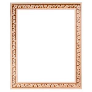 Рама для зеркал и картин дерево 40 х 50 х 5.0 см, липа, «Лепесток»