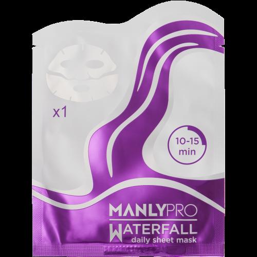 Освежающая тканевая маска для увлажнения кожи лица  Manly PRO
