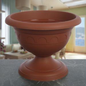 Вазон садовый , коричневый 5081447