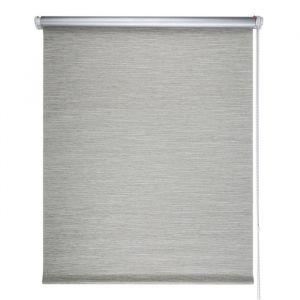 """Штора рулонная 60х175 см """"Блэкаут. Штрих"""", плотность 340 г/м2, цвет серый"""