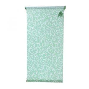 Штора-ролет «Аглетер», размер 55x160 см, цвет зелёный