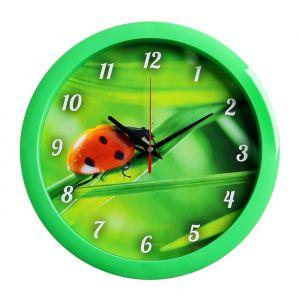 "Часы настенные круглые ""Природа"", 28х28 см 3967555"