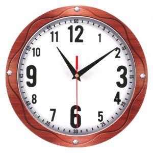 Часы настенные классика, круглые 24 см   3640632