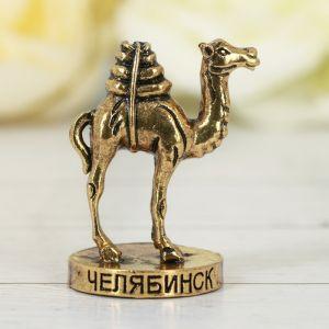 Фигурка «Челябинск. Верблюд», под золото