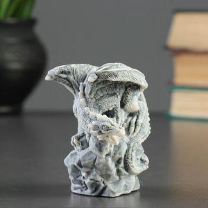 """Сувенир """"Дракон на камне """" 8,5см   4321318"""