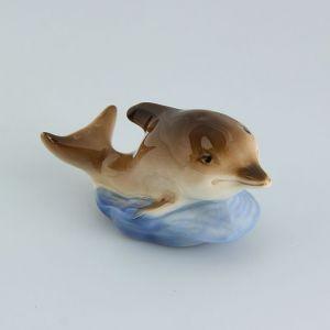 Сувенир «Дельфин», малый, 8?4?5 см, ручная работа, фарфор 1464428