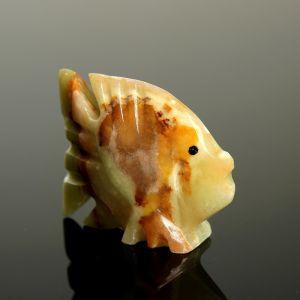 Сувенир «Рыба», 6,3 см, оникс 1590340