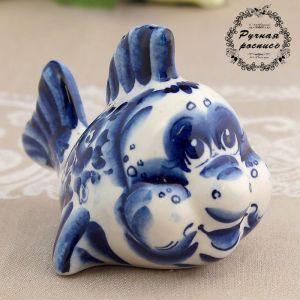 Сувенир «Рыбка», 8 см, гжель 1077860